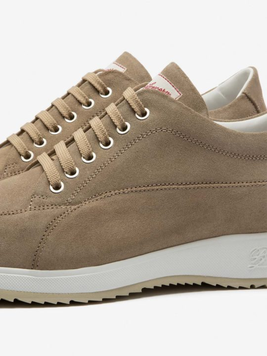 New Classic Beige Suede