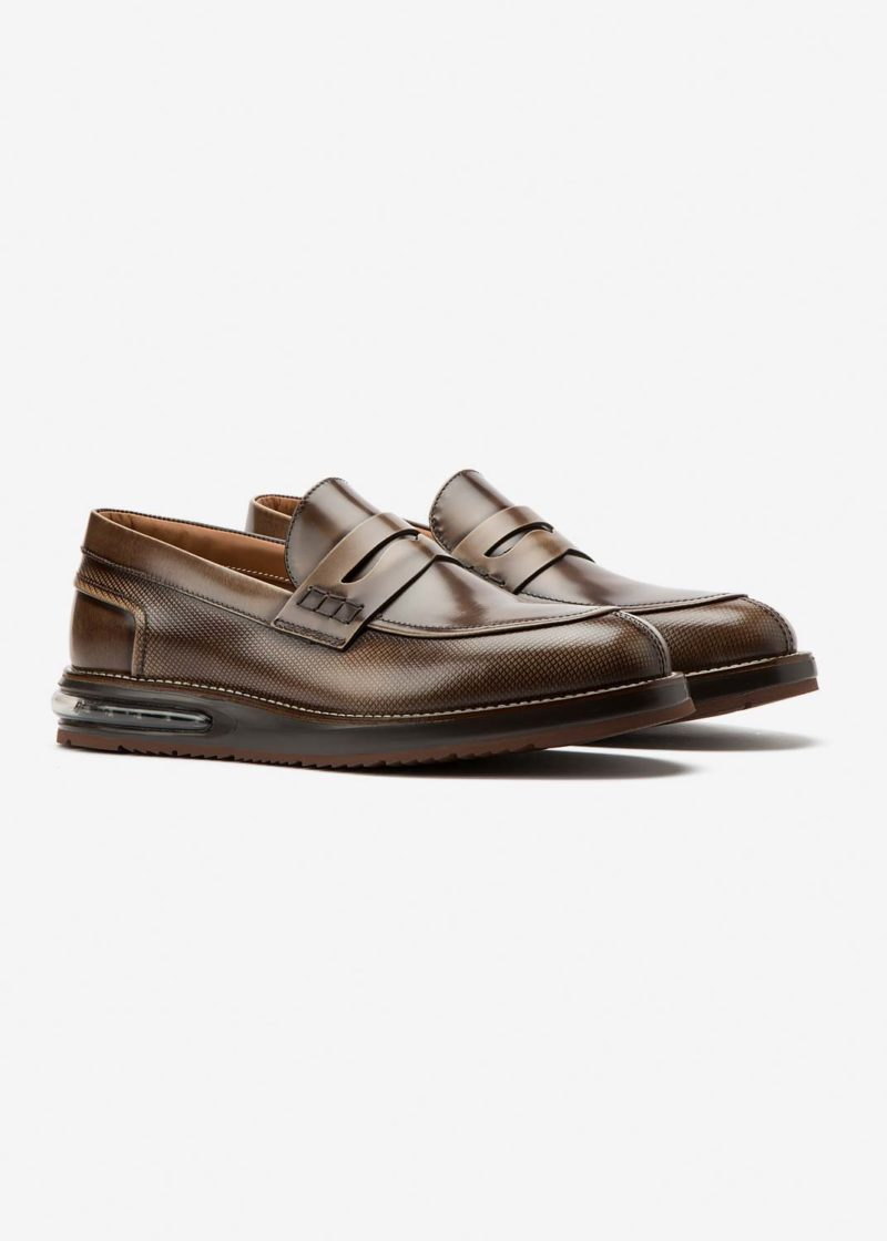 Air Moccasin Dust Leather