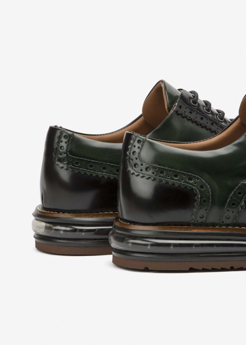 Air Brogue Color Block Loden