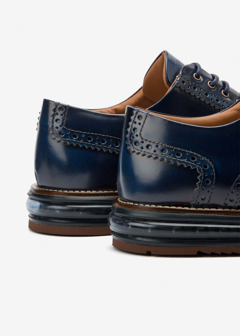 Air Brogue Cobalt Leather