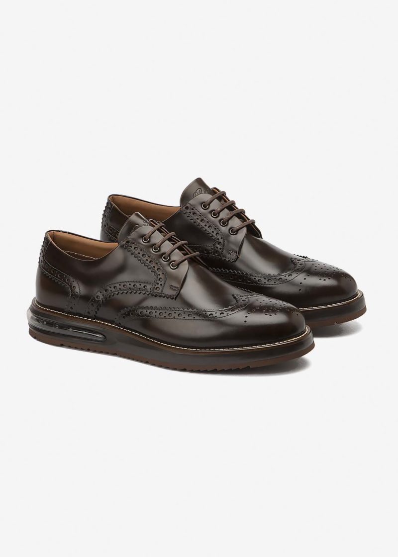 Air Brogue Brown Leather