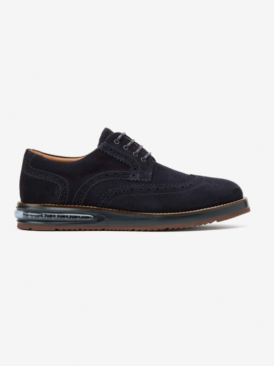 Air Brogue Blue Suede
