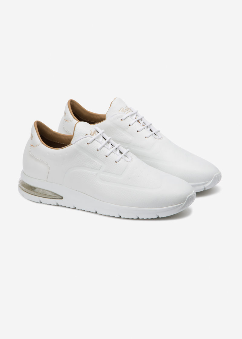 Air Grecale White Leather