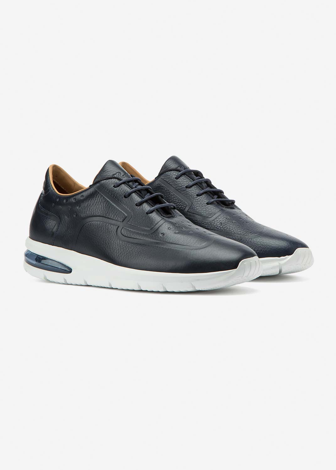 Air Grecale Blue Leather