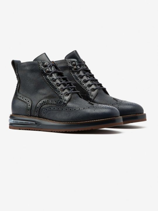 Air Brogue Boot Blue Grain