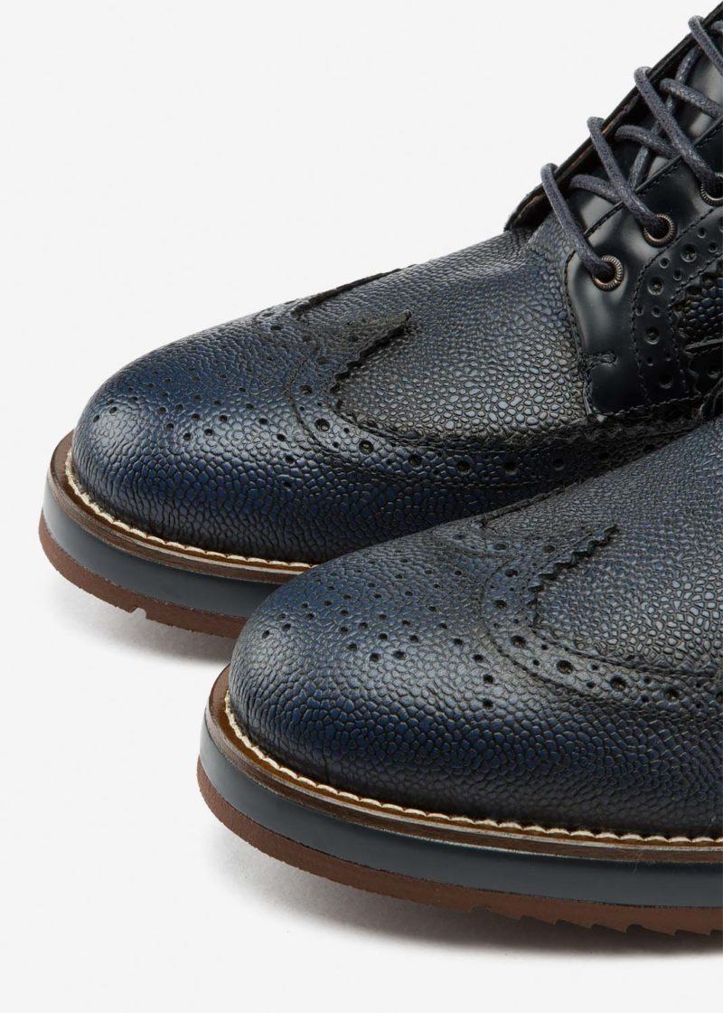 Air Brogue Boot Blue Grain