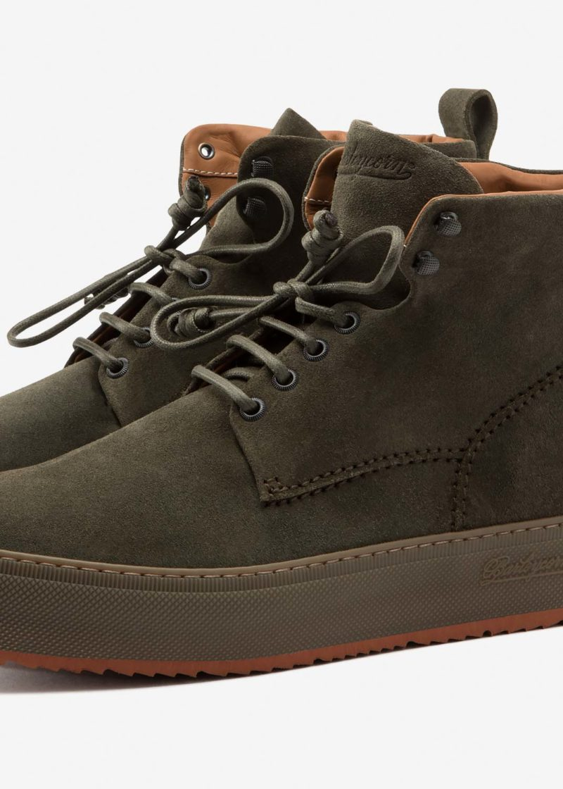 Classic 781 Boot Army Suede
