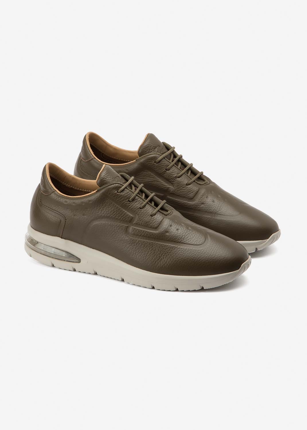 Air Grecale Army Leather
