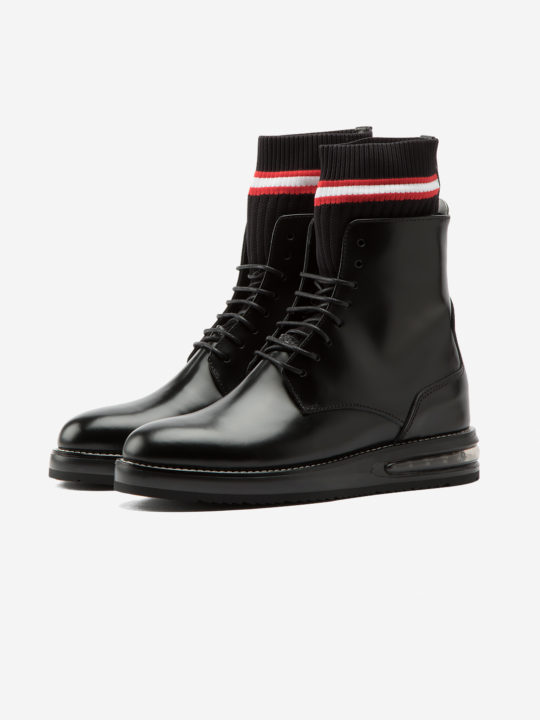 Air Woman Boot Black Leather