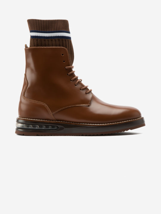 Air Woman Boot Caramel Leather
