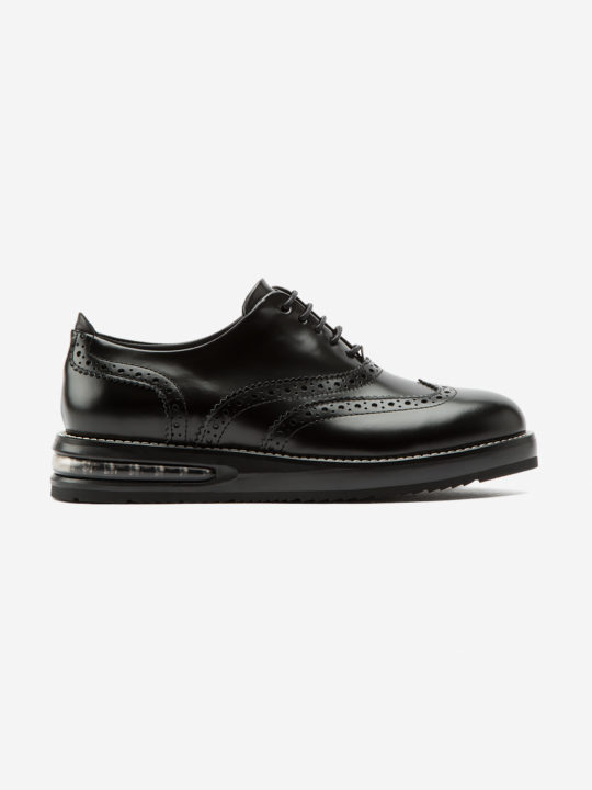 Air Francesina Black Leather