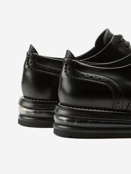 Air Francesina Black Leather