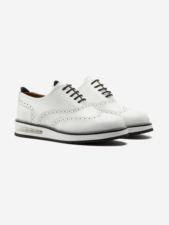 Air Francesina White Leather