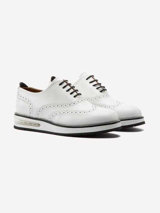 Air Francesina White Leather