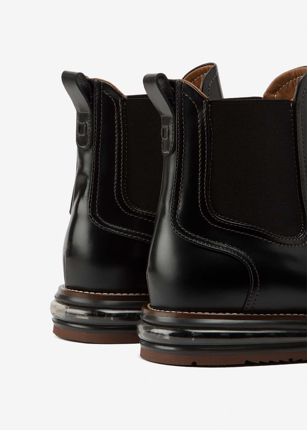 Air Chelsea Boot Black Leather