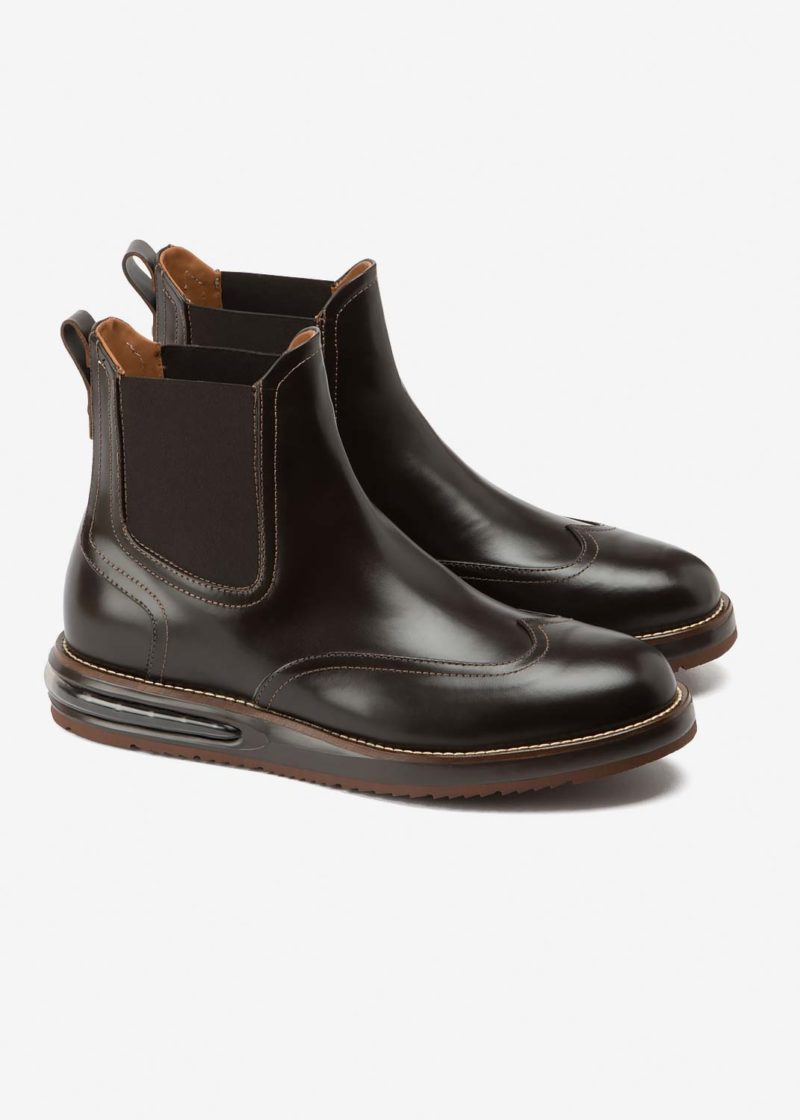 Air Chelsea Boot Choco Leather