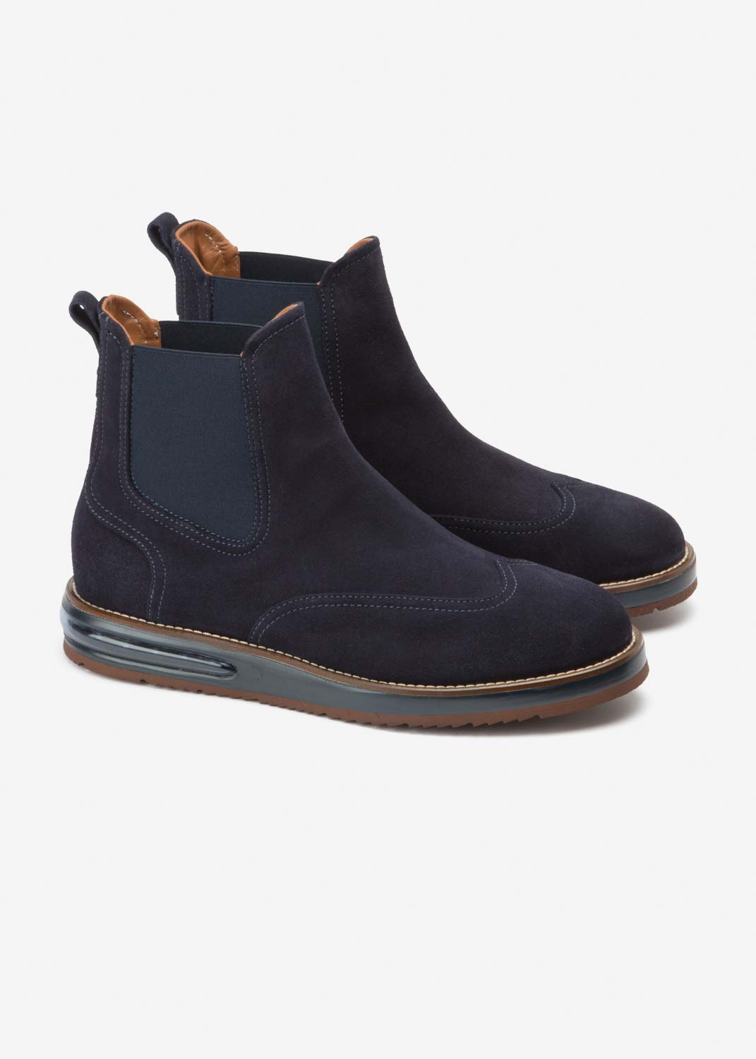 Air Chelsea Boot Blue Suede