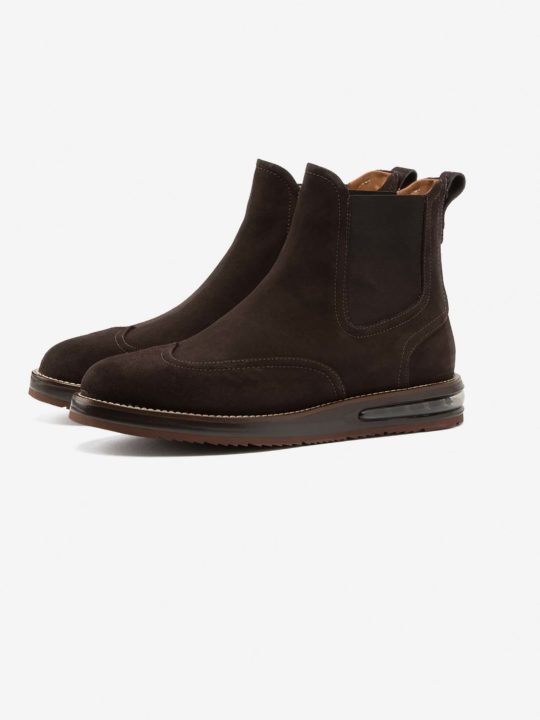 Air Chelsea Boot Choco Suede